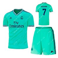Детская футбольная форма Реал Мадрид 2019-2020 Азар Резервная