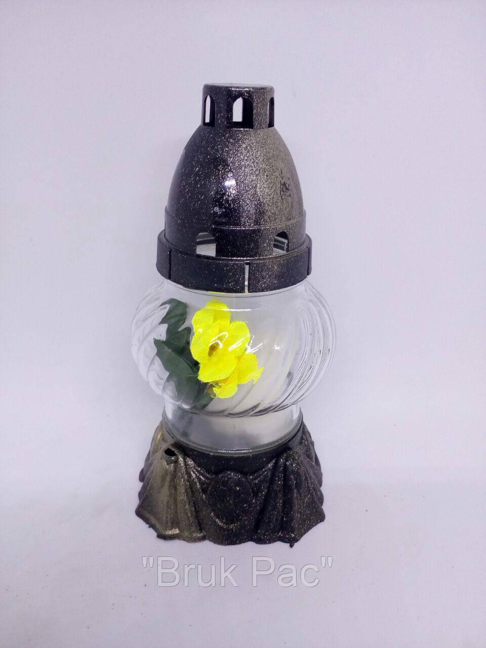 Лампадка 12 годин квітка в середині (12-05)