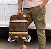 Крутой мужской рюкзак Louis Vuitton SOFT TRUNK  (реплика)