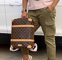 Крутой мужской рюкзак Louis Vuitton SOFT TRUNK  (реплика), фото 1
