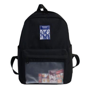 Рюкзак молодежный Adele Черный