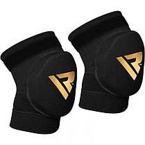Наколенники для волейбола RDX Black (2шт) S, фото 3