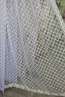 Тюль золотой фатин с узором, фото 1