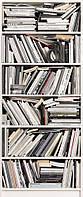 Фотообои на плотной полуглянцевой бумаге для стен 92*220 см : Книги. Komar  2-1946