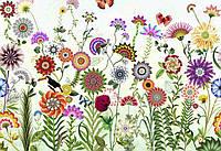 Фотообои на плотной полуглянцевой бумаге для стен 368x254 см. Цветы  Бразилии. Komar 8-200
