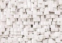 Фотообои на плотной полуглянцевой бумаге для стен 368x254 см. Кубы светлые.  Komar 8-207