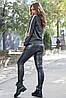 Женская меланжевая толстовка с карманами (3756-3757 svt), фото 4