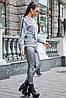 Женская меланжевая толстовка с карманами (3756-3757 svt), фото 3