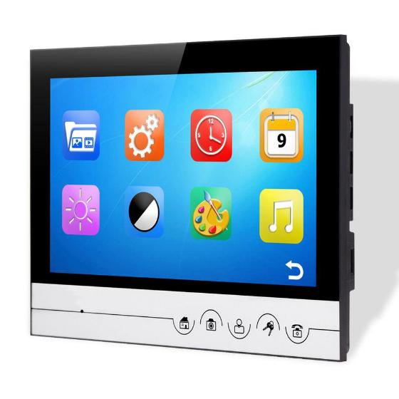 Домофон V90RM-M1  монитор 9 дюймов с функцией записи видео