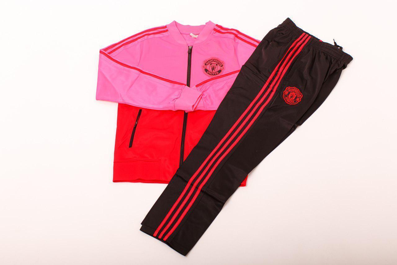 """Спортивный (тренировочный) костюм """"Манчестер Юнайтед""""  (1079)(реплика)"""