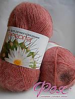 Пряжа полушерсть №16 Ареола Пыльная роза