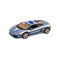 Автомодель - LAMBORGHINI GALLARDO LP560 POLIZIA, (голубой, 1:32), фото 1