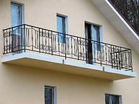 Недорогие кованые балконные ограждения. Возможно покрасить и установить. Гарантия на покраску.