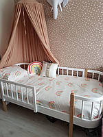 Кровать одноярусная подростковая деревянная FeliFam Scandi
