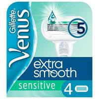 Лезвия Gillette Venus Extra Smooth Sensitive 4 шт