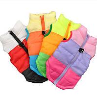 Теплая одежда для маленьких собак ветрозащитная зимняя одежда для собак, курта для собак, жилетка для щенков,