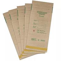 Крафт пакеты 115х200 для стерилизации в автоклаве или сухожаре (коричневые), Медтест 100 шт