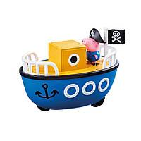 Игровой набор Peppa - КОРАБЛИК ДЕДУШКИ ПЕППЫ (кораблик, фигурка Джорджа), фото 1