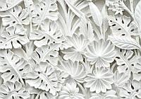 Фотообои 3D цветы (флизелин, 312х219, 368х254, 416х254) см Узоры из  керамики (10052CN)