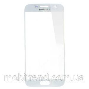 Стекло корпуса Samsung G930F Galaxy S7 white orig