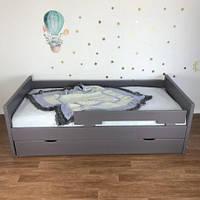 Кровать одноярусная детская деревянная FeliFam Modern
