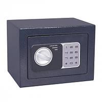 Взломостойкий сейф 23х17х17см. с электронным кодовым замком.