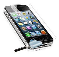 Стекло iPhone 4,4s Tempered Glass Pro+ противоударное без упаковки 0.25 мм