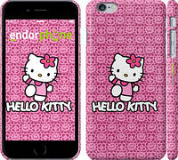 "Чехол на iPhone 6 Plus Hello kitty. Pink lace ""680c-48"""