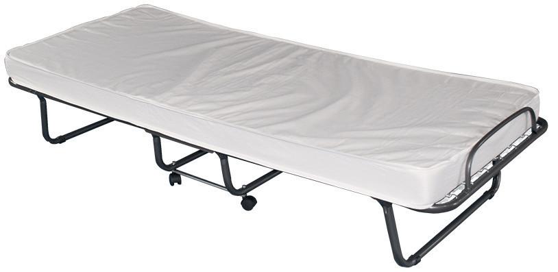 Складная кровать с матрасом 80x190 см