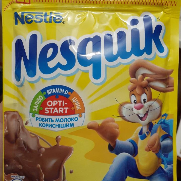 Шоколадный напиток Nesquik 140 грамм