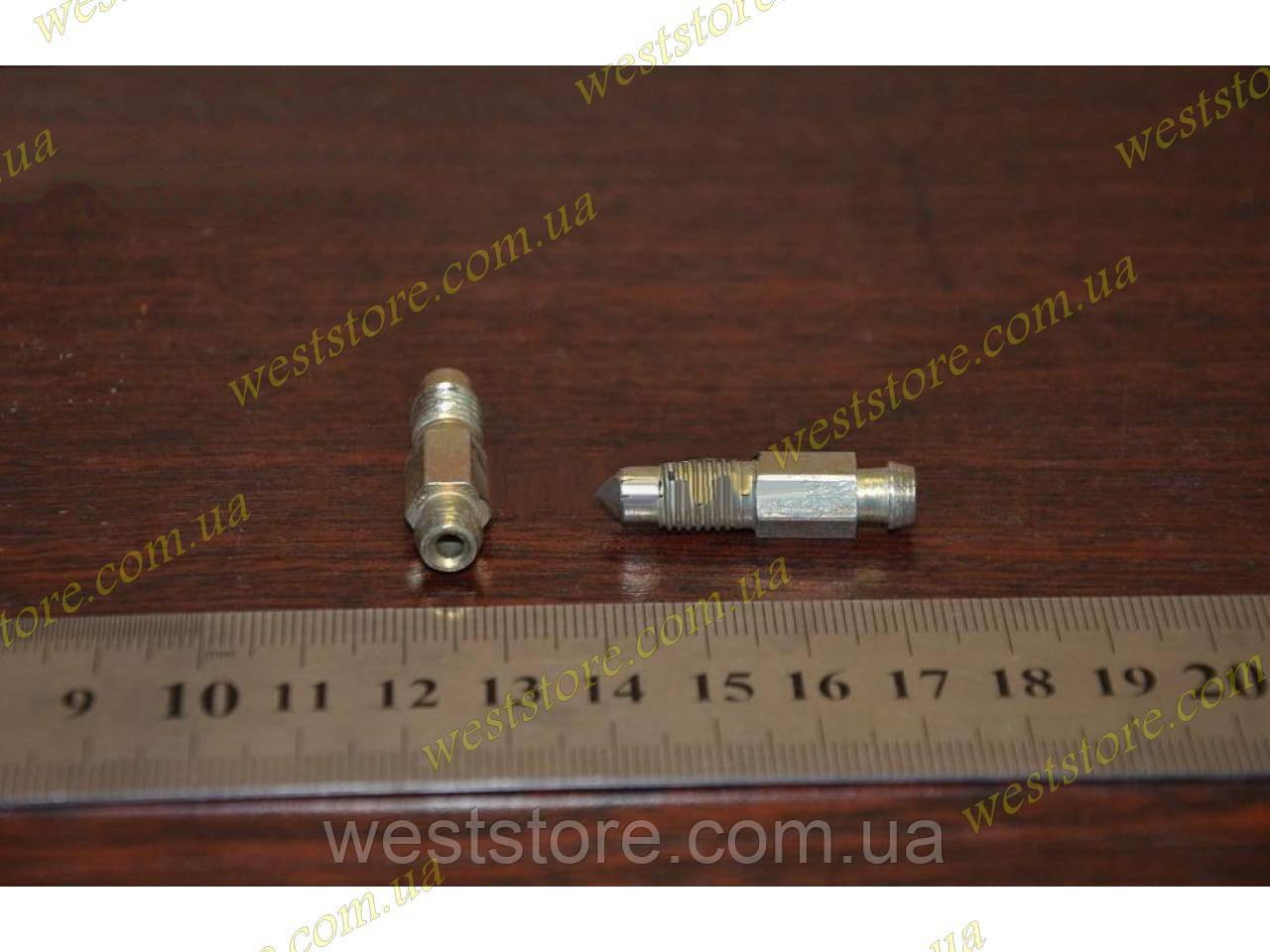 Штуцер прокачки тормозов м 8х1, Заз 1102,1103 Таврия Славута