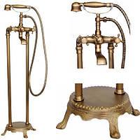 Кран для ванной комнаты смеситель RETRO W-089, фото 1