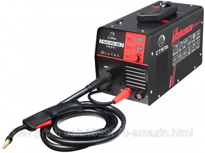 Зварювальний напівавтомат СТАЛЬ Multi-Mig-285 Profi (Інверторний) (89491)