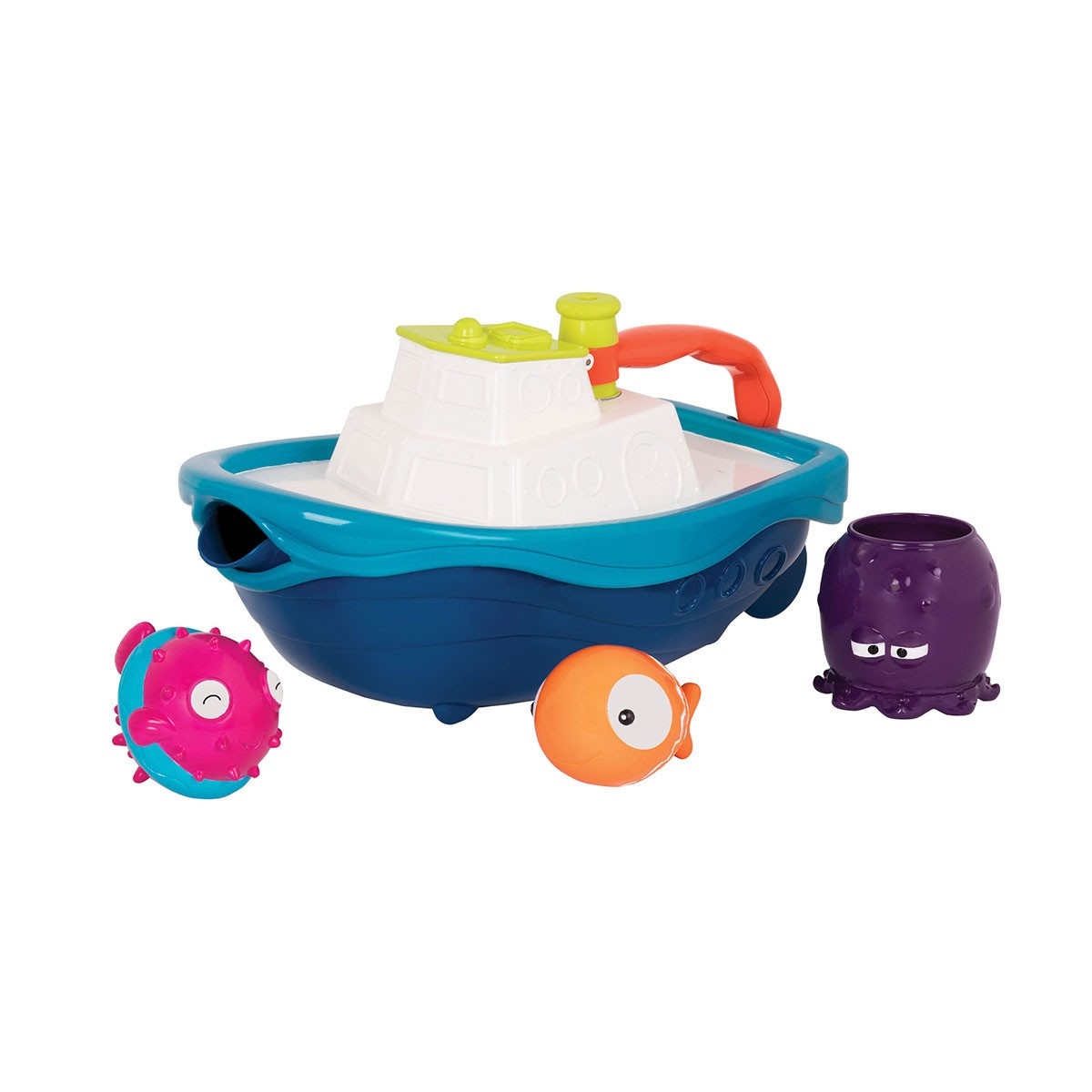 Игровой набор - КОРАБЛИК БУЛЬ (для игры в ванной и в бассейне)