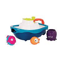 Игровой набор - КОРАБЛИК БУЛЬ (для игры в ванной и в бассейне), фото 1