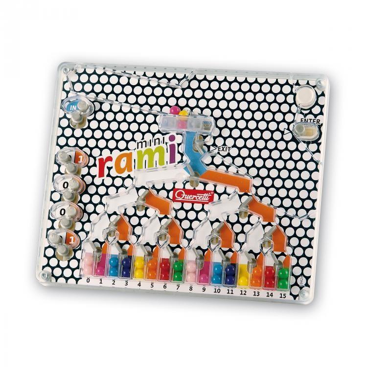 Развивающая игрушка-головоломка - РАМИ (дорожная версия)