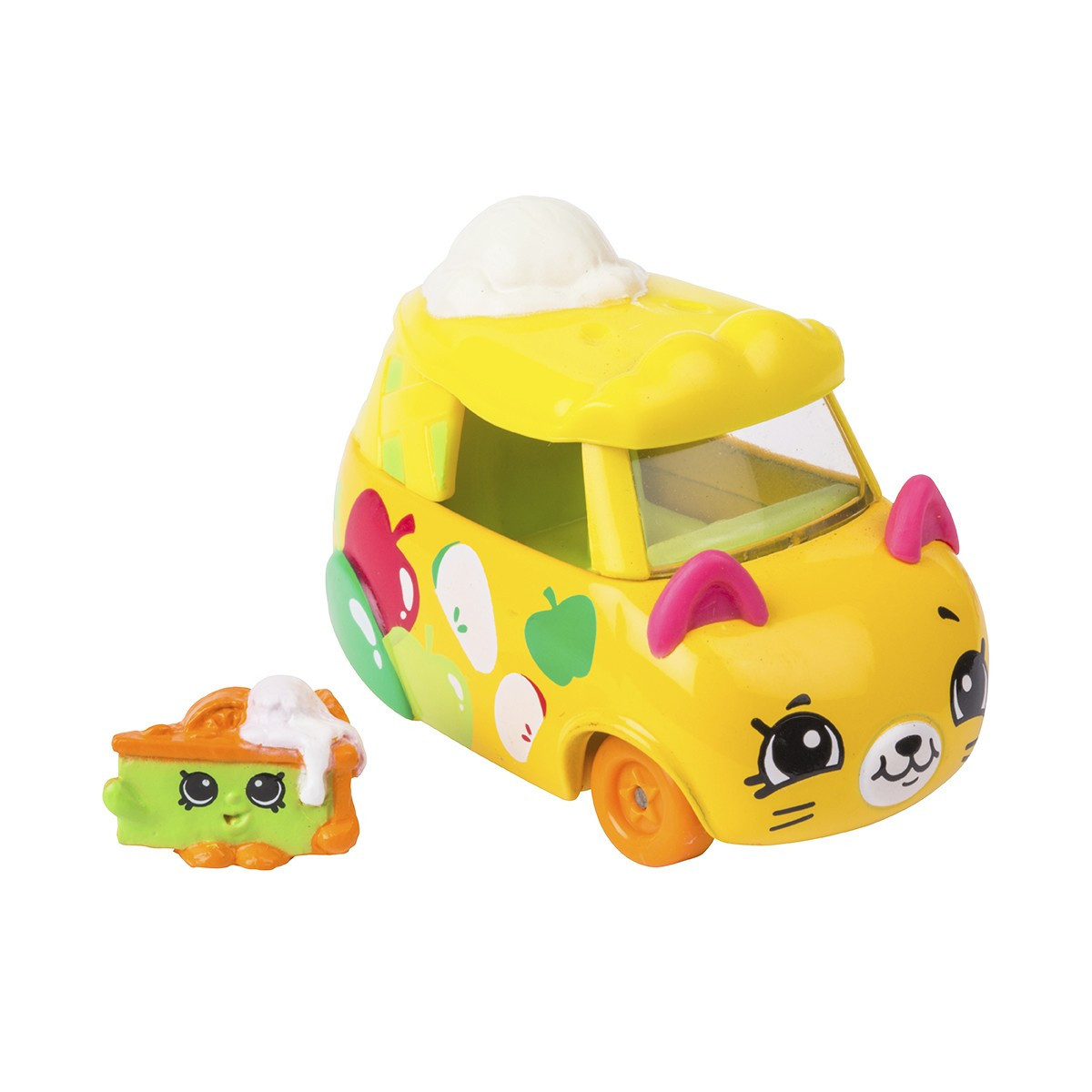 Мини-машинка SHOPKINS CUTIE CARS S3 - БЫСТРЫЙ ПИРОЖОК (с мини-шопкинсом)