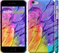 "Чехол на iPhone 6 Plus Разноцветные краски ""2273c-48"""