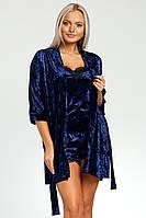 Элегантный халат женский велюровый,домашняя одежда