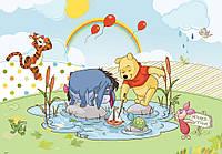 Фотообои флизелиновые детские, для малышей 312х219 см Дисней: Винни-Пух  (304CN)