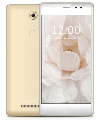 "Смартфон Leagoo T1 PLUS 3/16Gb Gold, 2sim, 13/13Мп, 5.5"" IPS, GPS, 2650mAh, 4G, 4 ядра"