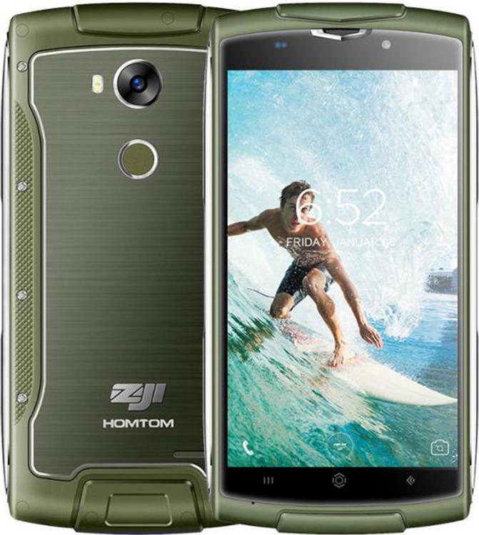 Мобильный телефон ZOJI Z7  ip68  green 2+16GB
