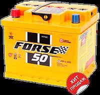 Аккумулятор автомобильный FORSE 6CT 50Ah, пусковой ток 490А (Низкий) [+ –]