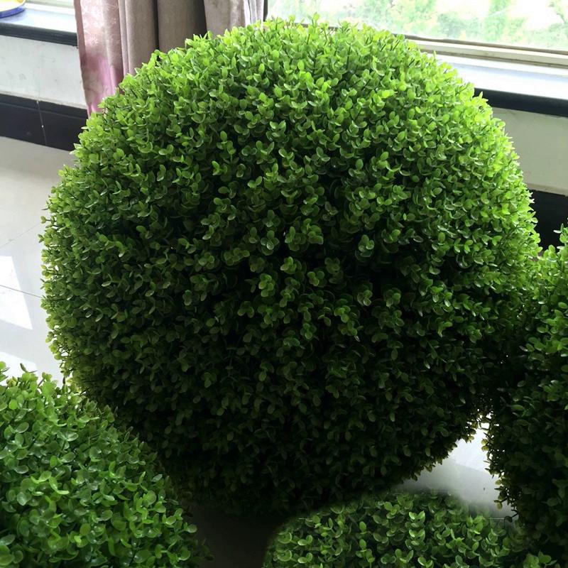 Искусственный шар самшит зеленый 60 см