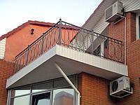 Ограждение для балкона, террасы из металла. Доставка и установка по Украине. Наличный безналичный расчет.