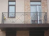 Ограждение для балкона из кованого металла