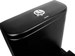 Напольный унитаз-компакт с сиденьем Newarc 3822B-M черный матовый, фото 2