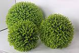 Искусственный шар самшит зеленый 60 см, фото 4