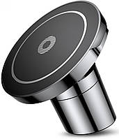 Автодержатель магнитный, с беспроводной зарядкой Baseus Qi Wireless Stand+Vent Holder Black (WXER-01)