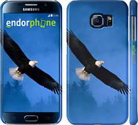 "Чехол на Samsung Galaxy S6 G920 Летящий орёл ""148c-80"""